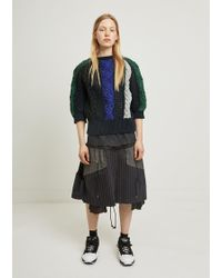 Sacai - Pasta Knit Pullover - Lyst