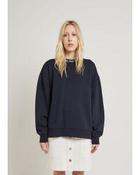Acne Studios - Yana As Rib Oversized Sweatshirt - Lyst