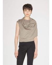 Lemaire - Scarf Top - Lyst