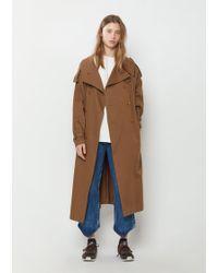 Y's Yohji Yamamoto - Soft Cotton Trench Coat - Lyst
