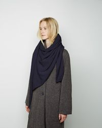 Christophe Lemaire - Asymmetrical Scarf - Lyst