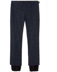 Peter Jensen - Double Cuff Trousers - Lyst