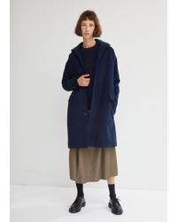 Stephan Schneider - Bouffant Fur Collar Coat - Lyst