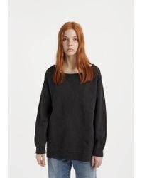 Visvim - Dyed Crewneck Sweatshirt - Lyst