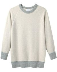 Steven Alan - Raglan Crewneck Sweatshirt - Lyst