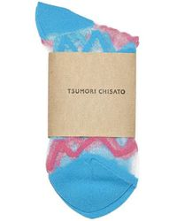 Tsumori Chisato | Zig Zag Socks | Lyst
