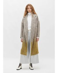 Dusan - Herringbone Oversized Wool Coat - Lyst