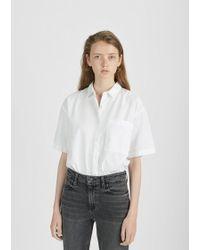 Save Khaki - Oversized Short Sleeve Shirt - Lyst