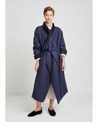 Nehera - Doubleface Alpaca Wool Coat - Lyst