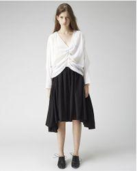 Limi Feu - Gathered Skirt - Lyst