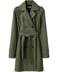 Organic By John Patrick - Double Breasted Trench - Lyst