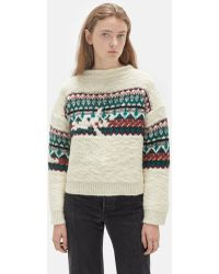 Étoile Isabel Marant - Elsey Hand Embroidery Sweater - Lyst