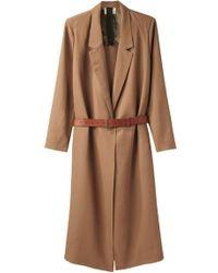 Giada Forte - Open Coat W/belt - Lyst