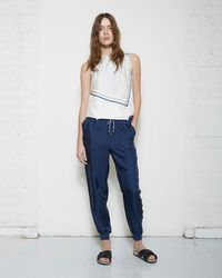 Band of Outsiders - Silk Sweatpant - Lyst