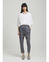 Étoile Isabel Marant - Noua Printed Cotton Trousers - Lyst