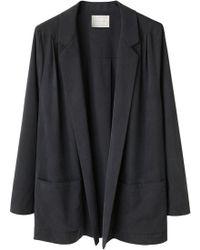 Moderne - Silk Artist Jacket - Lyst