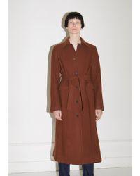 Moderne - Louise Tie-overcoat - Lyst