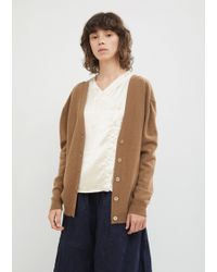Hache - Double Sided V-neck Cardigan - Lyst