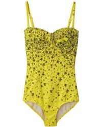Opening Ceremony - Balconette One Piece Swimsuit - Lyst
