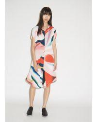 Issey Miyake - Bloom Pleats Dress - Lyst