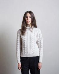 Margaret Howell - Cable Knit Ski Pullover - Lyst