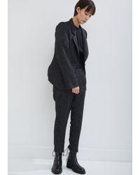 Ann Demeulemeester - Northrop Tweed Jacket - Lyst