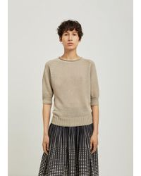 Margaret Howell - Cast Off Roll Neck Jumper - Lyst