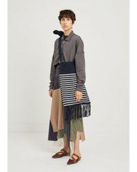JW Anderson - Handcrafted Breton Stripe Bag - Lyst