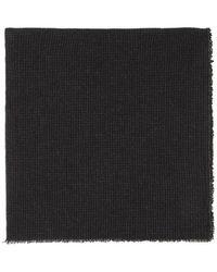 Moderne - Checked Wool-gauze Scarf - Lyst