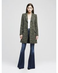 L'Agence - The Bouvier Peacoat - Lyst
