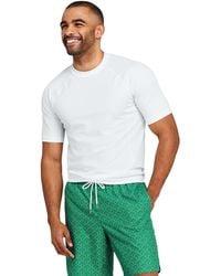 0860735666b Lands  End Petite Printed Cotton-modal Pintucked Vest Top in Orange ...
