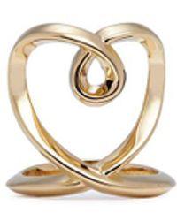 Chloé | 'heart' Twist Band Ring | Lyst