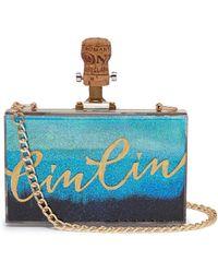 Cecilia Ma - 'cin Cin' Dégradé Glitter Acrylic Box Clutch - Lyst