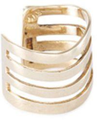 Lynn Ban - 'coil' 14k Gold Single Ear Cuff - Lyst
