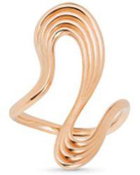 Fernando Jorge - 'stream Lines' 18k Rose Gold Long Ring - Lyst