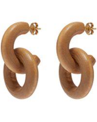 Sophie Monet - 'the Configuration' Interlocking Hoop Earrings - Lyst