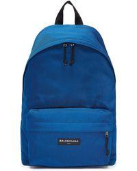 Balenciaga - 'explorer' Canvas Backpack - Lyst