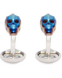 Babette Wasserman - Swarovski Skull Cufflinks - Lyst