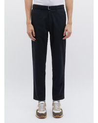 Nanamica - 'club' Belted Alphadry® Pants - Lyst
