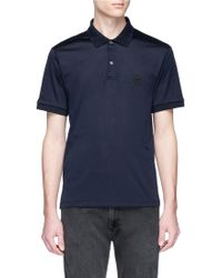 Alexander McQueen - Skull Patch Polo Shirt - Lyst