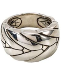 John Hardy - Silver Ring - Lyst