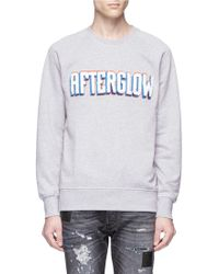 Denham - 'afterglow' Embroidered Sweatshirt - Lyst
