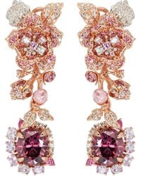 Anabela Chan - 'rose' Diamond Gemstone Detachable Drop Cocktail Earrings - Lyst