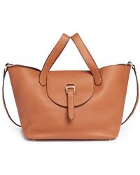 Meli Melo | 'thela' Medium Leather Trapeze Tote | Lyst