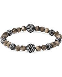 John Hardy - Men's Legends Naga Pyrite Bead Bracelet - Lyst