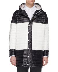 Thom Browne - Quilted Down-filled Satin Coat - Lyst