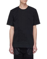 By Walid - Reconstructed Patchwork T-shirt - Lyst