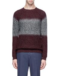 Theory - 'alcone Rm' Ombré Merino Wool Sweater - Lyst