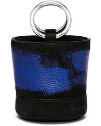 Simon Miller - 'bonsai 15cm' Paint Stroke Leather Bucket Bag - Lyst