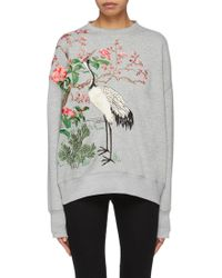 Alexander McQueen - Japanese Embroidered Jumper - Lyst